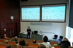 Kristjan Haav presenting his PhD thesis