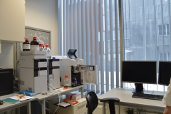 Shimadzu HPLC system with Shimadzu MS 2020 Single Quad mass spectrometer